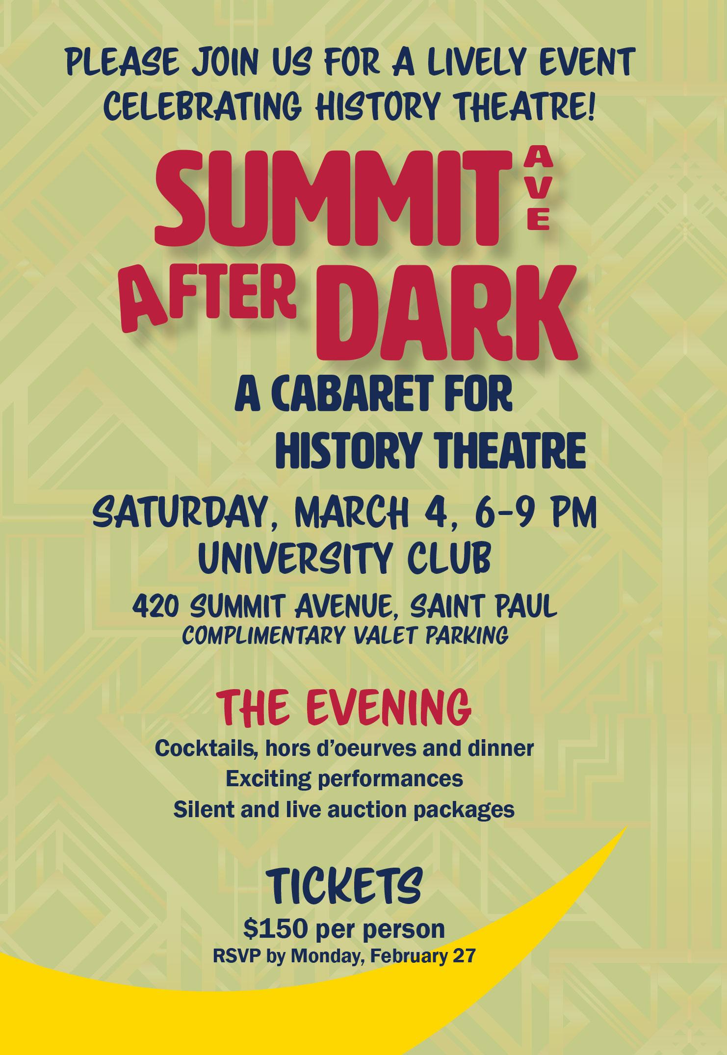 Summit Ave After Dark