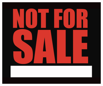 Not For Sale >> Not For Sale Png History Theatre